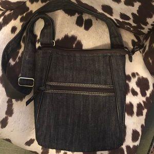 Thirty one Cross body denim purse